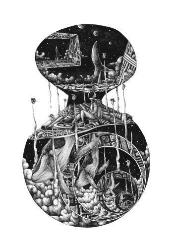 《黄金原野》插图——选取自《十二个明天》 插画师:杨佳运